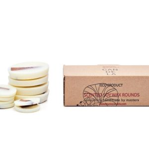 CINNAMON SCENTED SOY WAX ROUNDS