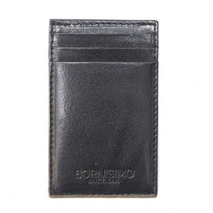 MAGIC WALLET BLACK LEATHER