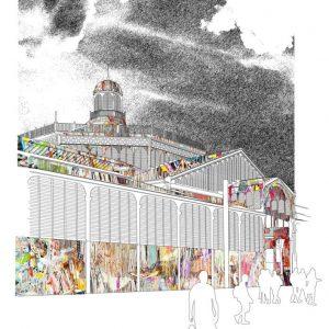 MUSEO DEL BORN, BARCELONA PRINT