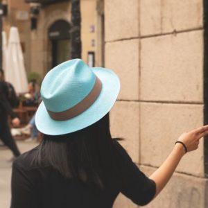 PANAMA HAT CLASSIC BLUE SKY