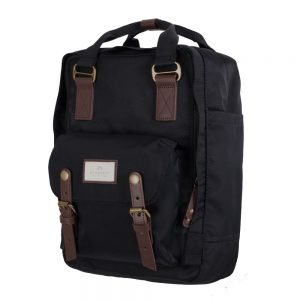 MACAROON BLACK BACKPACK