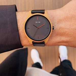 615 ARENO BAMBOO WOODEN WATCH