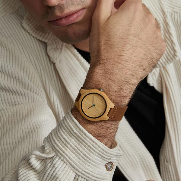 600 HISTO BAMBOO WOODEN WATCH