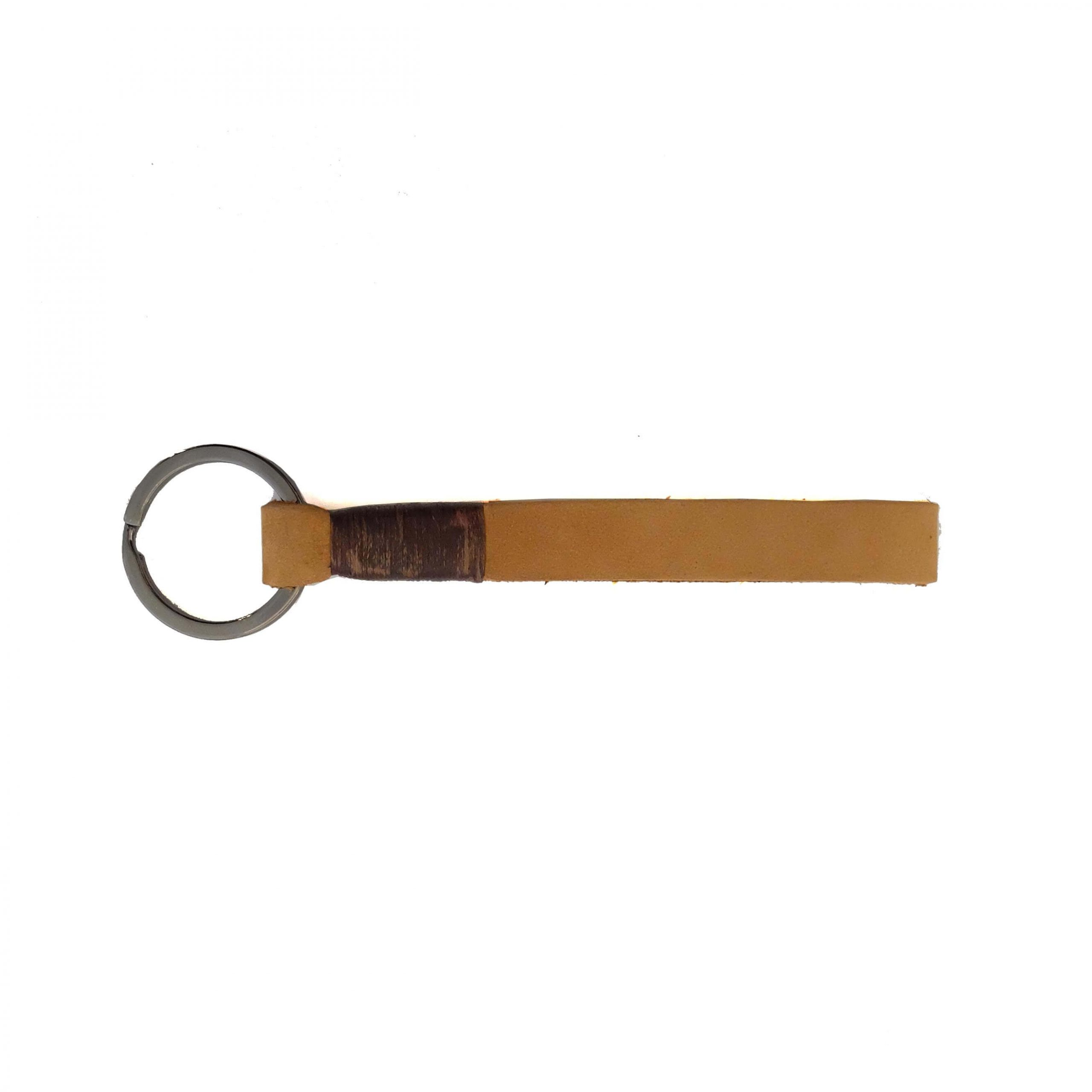 LEATHER KEY CHAIN CAMEL