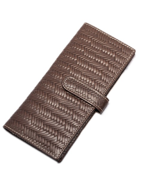 JALISCO DARK BROWN LEATHER WALLET