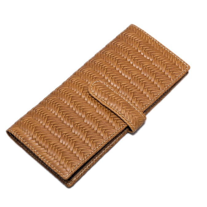 JALISCO LIGHT BROWN LEATHER WALLET