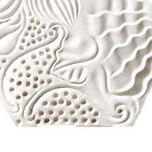 CERAMIC COASTER GAUDI PANOT WHITE