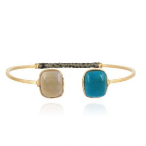 DUALITY HONORE GOLD PLATED BRACELET