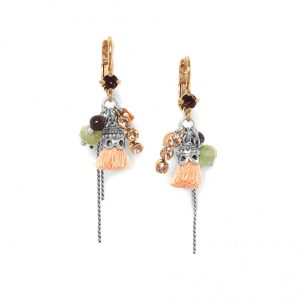 MYLENE GRAPE FRENCH EARRINGS