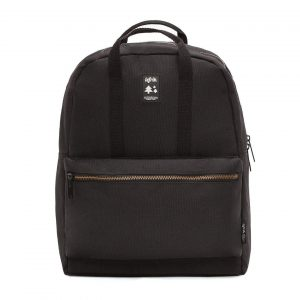 GOLD CLASSIC BLACK BACKPACK