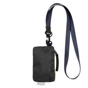 LUSTY CHARCOAL WALLET/CROSSBAG